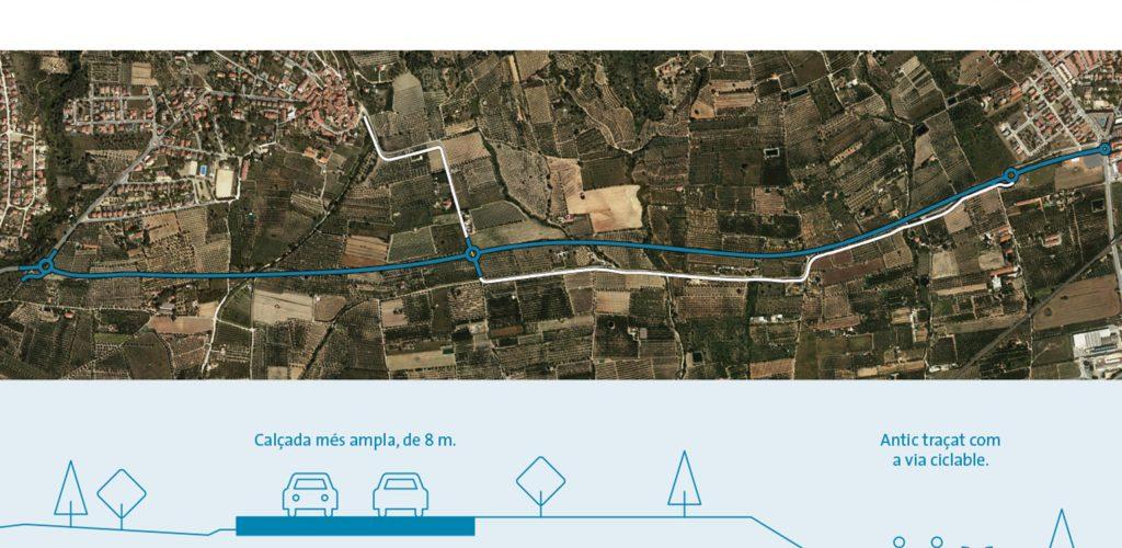 Full inici obres T-3231 Almoster La Selva